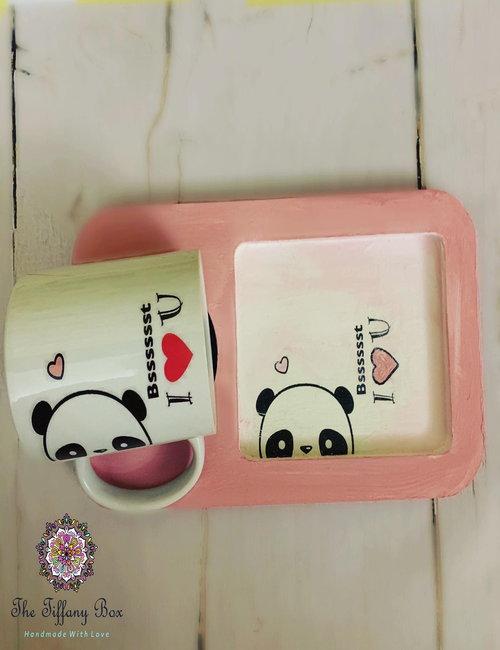Mug With Tray