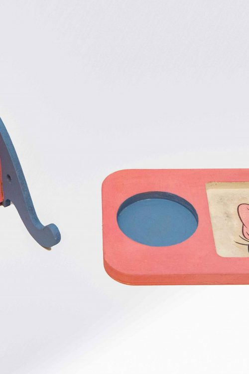 Elephant desk organizer and mobile holder and tray