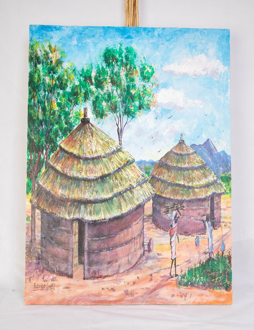 African village By Patrice