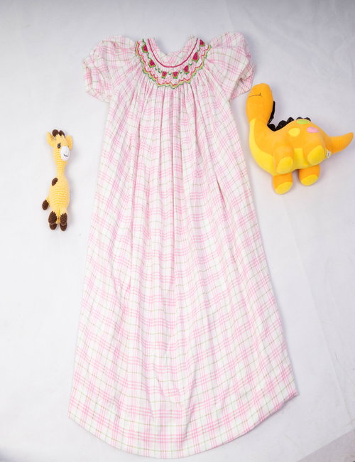 Newborn baby dress By Natalina