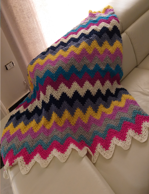 Couch throw cover