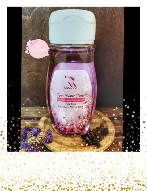 Toner rose water