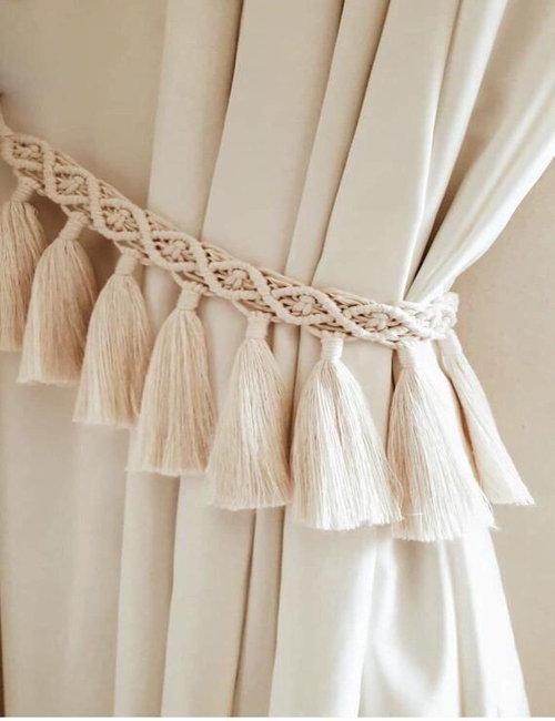 Macrame Curtain Strap