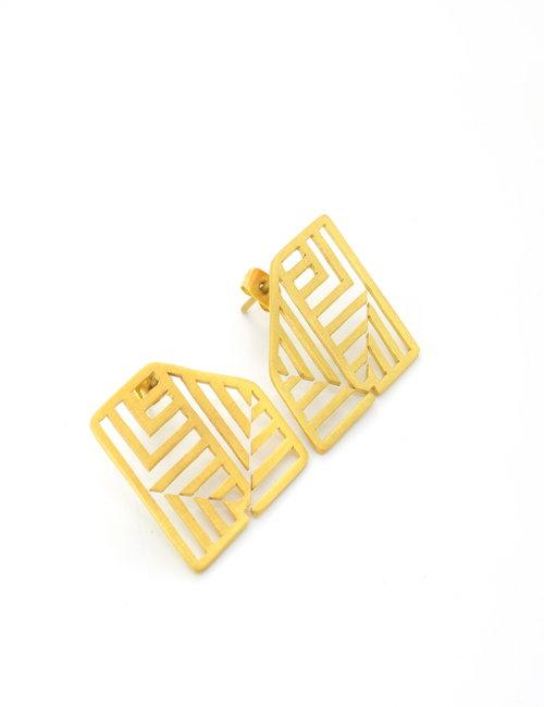 The Pattern small earrings