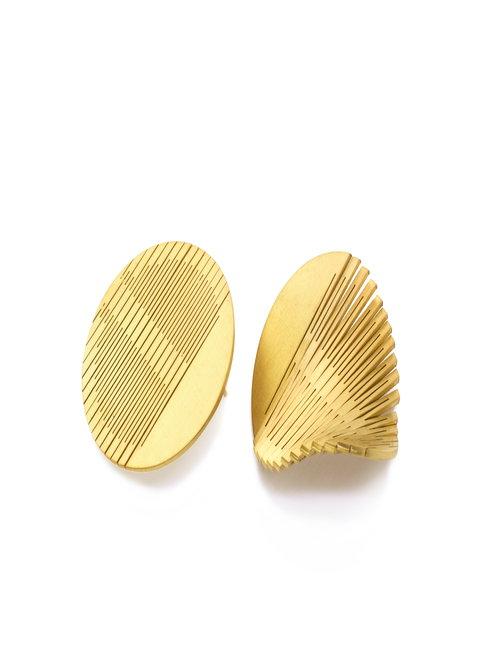 liquify classic circle large earrings