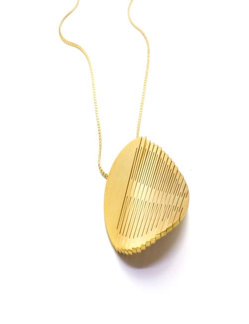 LIQUIFY Classic circle pendant
