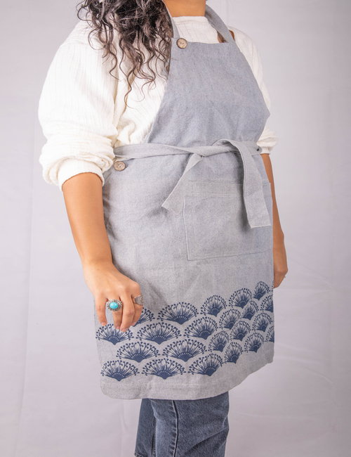Printed aprons with cotton straps By Nilfurat