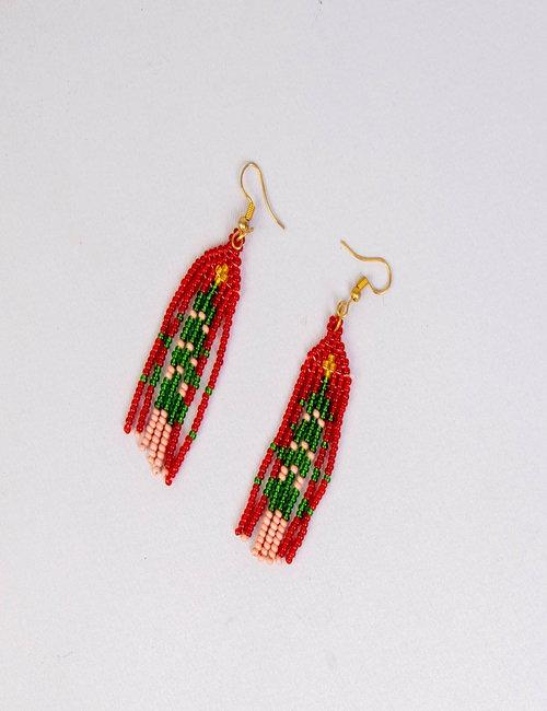 Beaded earring By Biana