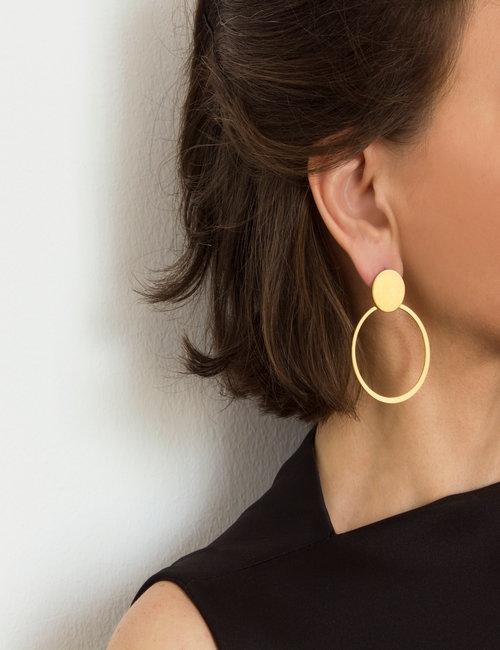 Solid & Void earrings